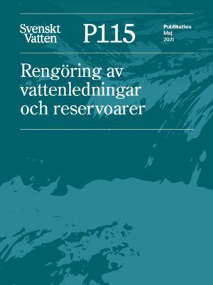 """Boken P115 """"Rengöring av vattenledningar och reservoarer"""""""
